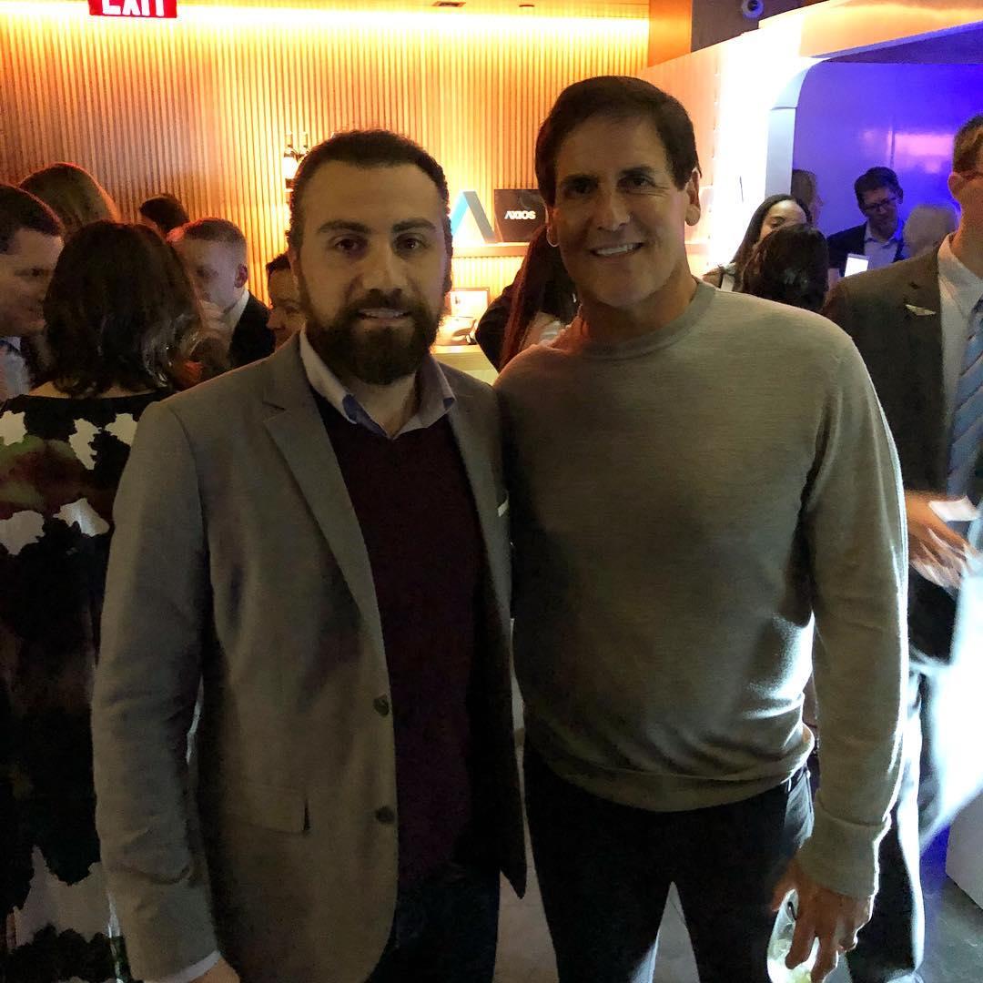 """The Entrepreneur Mark Cubanfrom """"Shark Tank"""