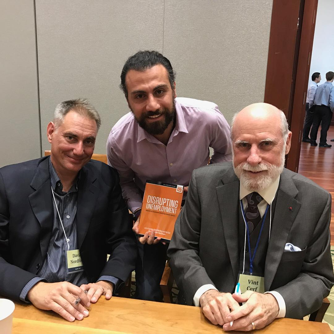 "The Father of the Internet ""Vint Cerf"""