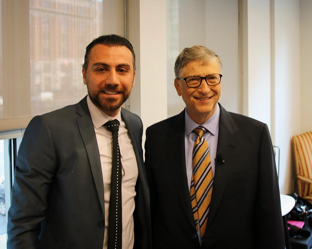 With the Legend Bill Gates
