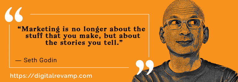 Seth Godin Quote about Digital Marketing